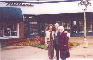 1994 - Andrea, Arthur & Dorothy Nielsen at new Plaza store.
