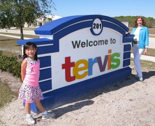 Annika & Andrea at Tervis