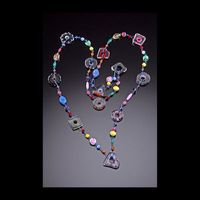 Chrissie Farrar - Furnace Glass Necklace