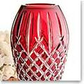 Waterford Red Cased Vase
