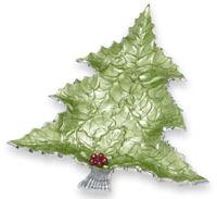 Julia Knight - Holly Sprig Tree Platter #7360023
