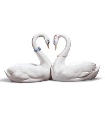 Endless Love lladro Swans